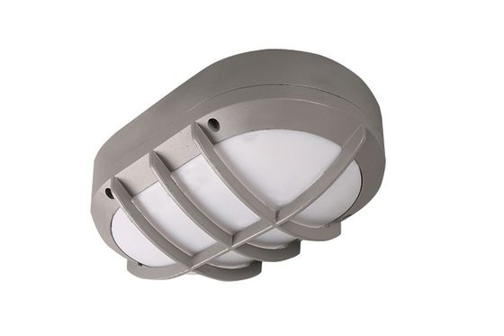 Cina Aluminium Outdoor LED Bathroom Ceiling Light Cool White 6000K 10W 80 Lm/W pemasok