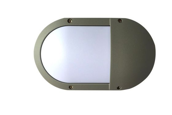 Cina Square / Round / Oval LED Outside Bulkhead Lights IK10 High Lumen Energy saving pabrik