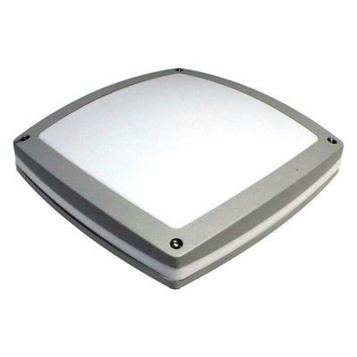 Cina Square Shape White Bulkhead Outdoor Light , Led Bulkhead Wall Light Surface / Wall Mounted pabrik