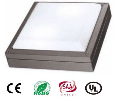 Cina 20W Square Outdoor LED Wall Light Dengan Chip Philips, High Power IP65 Led Wall Pack Light Distributor